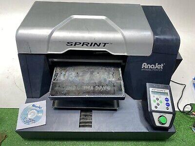 Anajet Sprint Dtg Apparel Shirt Printer Model So-200a Read Description Untested
