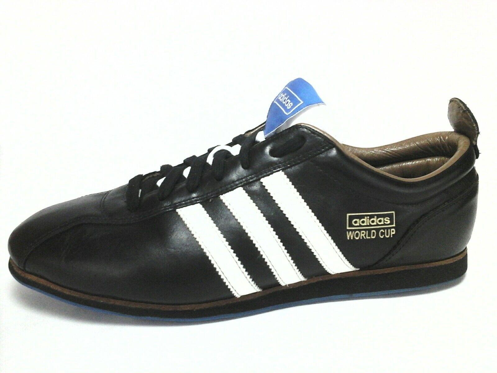 ADIDAS Originals WORLD CUP 66 Hombre Negro sneakers SAMBA Soccer Hombre 66 US a53618