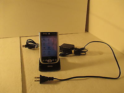 Genuine Dell Axim X50v Windows Handheld Mobile Pocket PDA With Charger