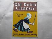 Old Dutch Cleanser Tin