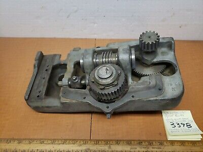 Southbend Lathe 13 Apron Parts Only Clutch Worm Gearworm Gears
