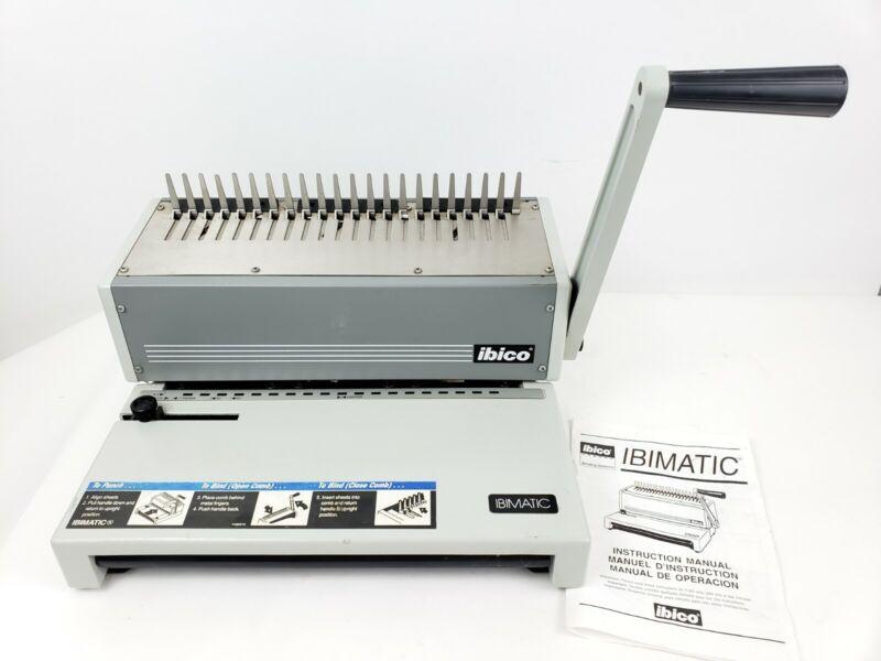 IBICO IBIMATIC Heavy Duty Binding and Punch Machine Office Equipment