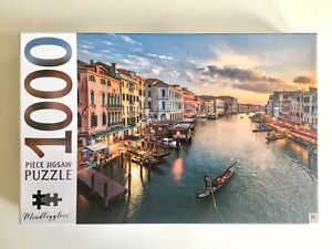 Mindbogglers 1000 Premium Piece Jigsaw Puzzle GRAND CANAL ITALY NEW