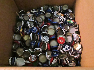 Lot 500+ (2.5 lb) Clean Beer Bottle Caps 35+ Domestic, Import, IPA, some creased