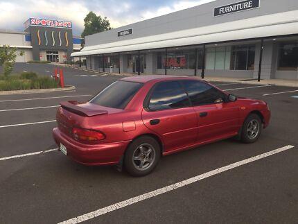 Subaru Impreza 1999 Kearneys Spring Toowoomba City Preview