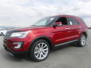 2016 Ford Explorer Limited 4WD 3rd row seating