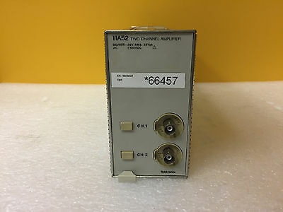 Tektronix 11a52 Dc To 600 Mhz Dual Ch Vertical Amplifier Plug-in For Dsa