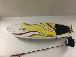 5'6 NSP surf board with leash and wax
