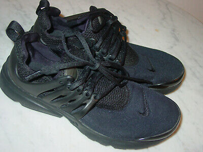 2016 Nike Presto Black Youth Running Shoes! Size 6Y