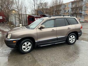 2006 Hyundai Santa Fe/ 2600$ NEGO (NO TAXES, PAS DE TAXES)
