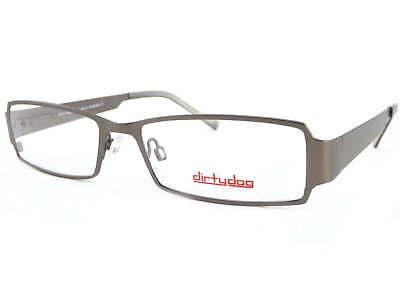 Dirty Dog - Chug Herren Seide Rotguss 55mm Metall Optisch Rx Brillengestell (Herren Guess Brillengestelle)