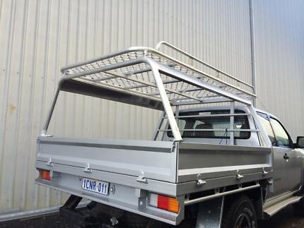 Custom aluminium roof racks, canopies and tradesman accessories Henderson Cockburn Area Preview