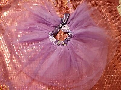 Purple Lilac Toddler Girl Tutu Costume 5T-6T Halloween Fairy Ballet skirt