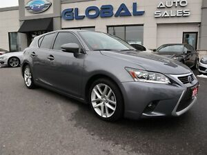 2015 Lexus CT 200h HYBRID LEATHER SUNROOF REV. CAMERA.