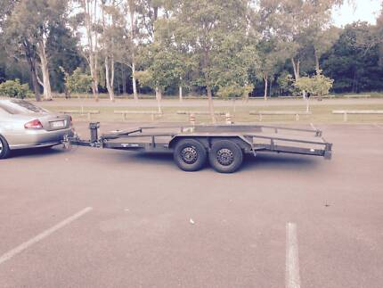 CAR TRAILER HIRE..GOLD COAST..BEAVER TAIL AND EZ TOW..straps incl Upper Coomera Gold Coast North Preview