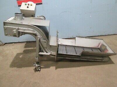 Fongex Heavy Duty Commercialindustrial 13w X 36l Steel Belt Chip Conveyor