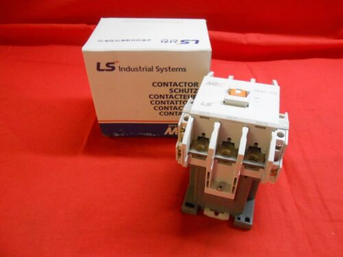 LS GMC-75 CONTACTOR 120 VAC 60HZ - NEW IN BOX rsc-75 benshaw rsc-85 up to 40 hp