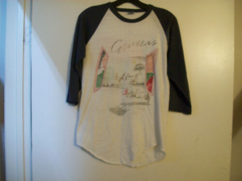 Vintage Genesis Abacab 1982 Tour Shirt Medium