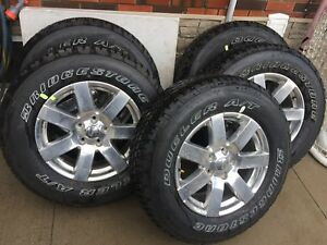 Brand new dealer take off wheels and tires Jeep Wrangler jk