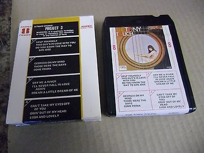 Tony Mottola Touch The Best OF [Popular Guitar] 8 Track Tape Project Records
