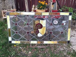 Stained Glass Paned in Lead