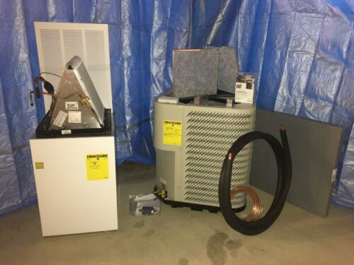 2.5 Ton Mobile Home Split Air Conditioner System With 15kw Electric Furnace