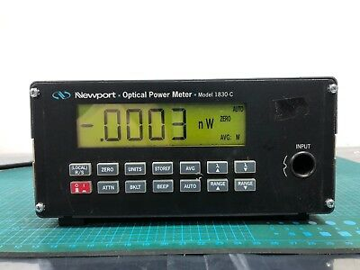 Newport Optical Power Meter 1830-c