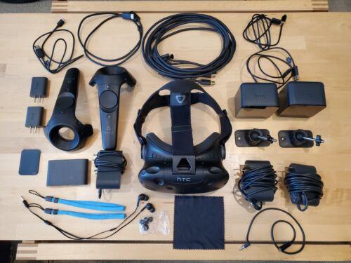 HTC Vive Virtual Reality System. Full Kit VR.