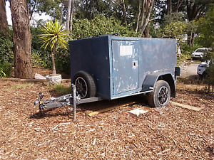 Multipurpose closed trailer with side and rear locking doors Eltham Nillumbik Area Preview