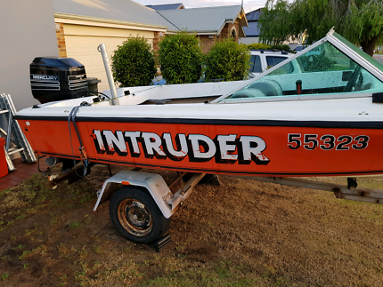 Licenced runabout boat.