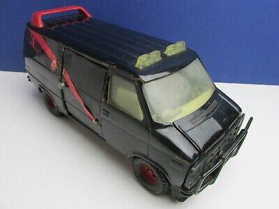 rare VINTAGE ERTL A TEAM VAN METAL diecast  vehicle 1983 1:18 ba baracus #783