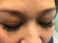 Eyelash extension to make every woman look beautiful