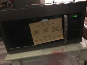 Over the range microwave brand new