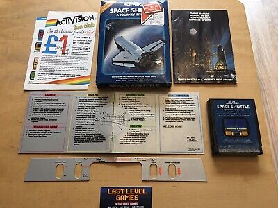 ATARI 2600 - SPACE SHUTTLE A JOURNEY INTO SPACE - COMPLETE