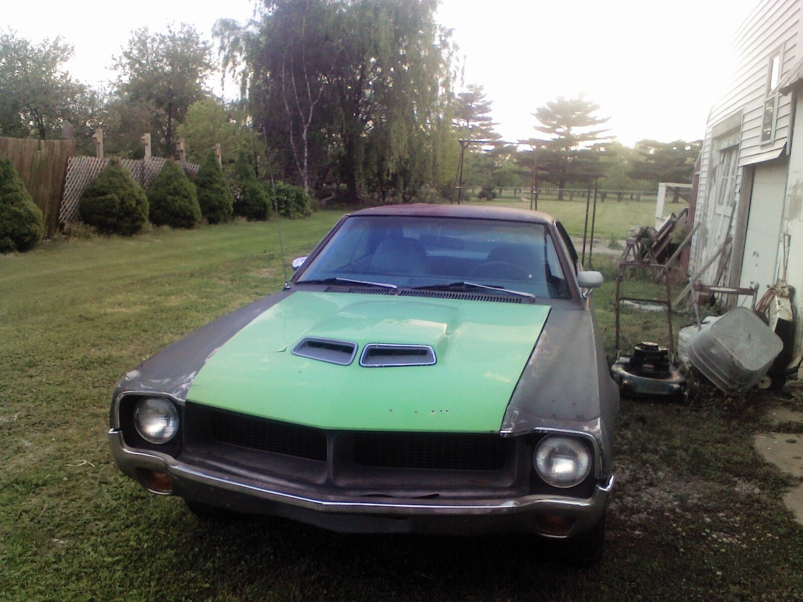 1970 AMC Javelin  1970 AMC Javelin 390 AUTO SST  awesome PROJECT  and RARE