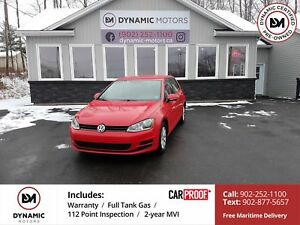 2015 Volkswagen Golf 1.8 TSI Trendline NEW BRAKES! 5-SPEED! O...