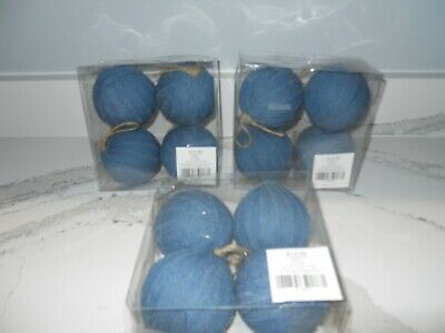 Make Your Own Christmas Crafts Tree Ornaments Denim Jean Material Lot 12 New](Make Your Own Christmas Ornaments)