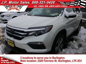 2016 Honda Pilot EX-L, 3rd Row Seating, Leather, Sunroof, AWD