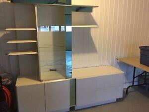 Bibliothèque en vrai bois blanc
