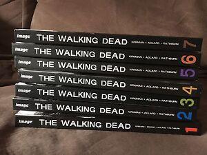 Walking dead volume 1-7
