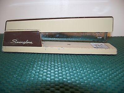 Vintage Swingline Model 767 Browntan Industrial Stapler 714