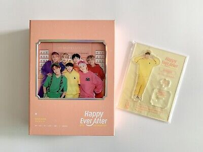 BTS 4th Muster Happy Ever After DVD Full Package + JUNGKOOK Acrylic Stand(No PC)