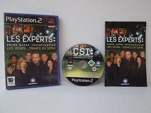 Les-expertos-Las-Vegas-crimes-en-la-serie-Juego-PS2-Playstation-2-Completo