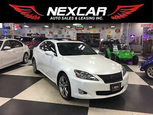 2010 Lexus IS 250 PREMIUM PKG AUT0 LEATHER SUNROOF 118K