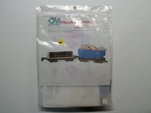 Columbia-Minerva Train Log & Open Car Needlepoint Idea Kit 8277 Vintage 1978 NOS