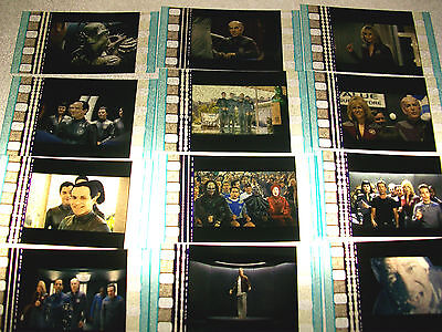 GALAXY QUEST Film Cell Lot of 12 - collectibles compliments movie dvd poster