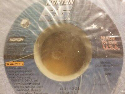 Norton Sg 12 X 1 12 X 2 Aluminum Oxide Grinding Wheel