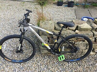 mens carrera mountain bike used