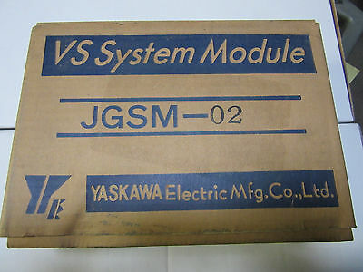 Yaskawa Jgsm-02 Drive Soft Start New In Original Box