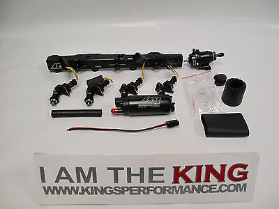 Kings Performance Stage 2 Fuel System for B Series! KP AEM 1000cc Bosch B18 B20
